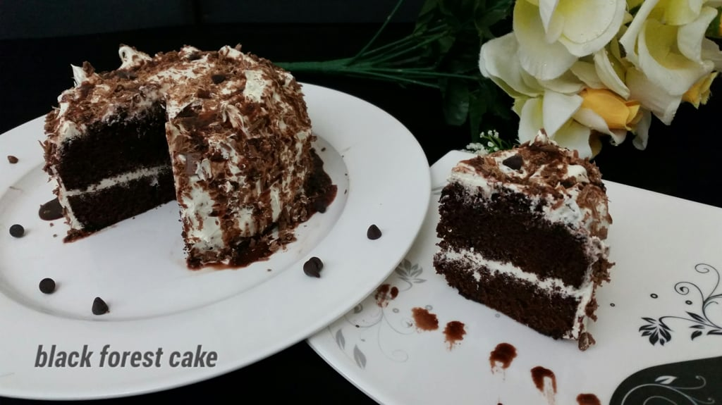 Mini black forest cake Recipe | Ashee's CookBook