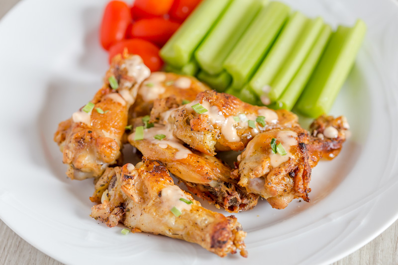 Baked Chicken Wings with Maple Mustard sauce -A guest post ...