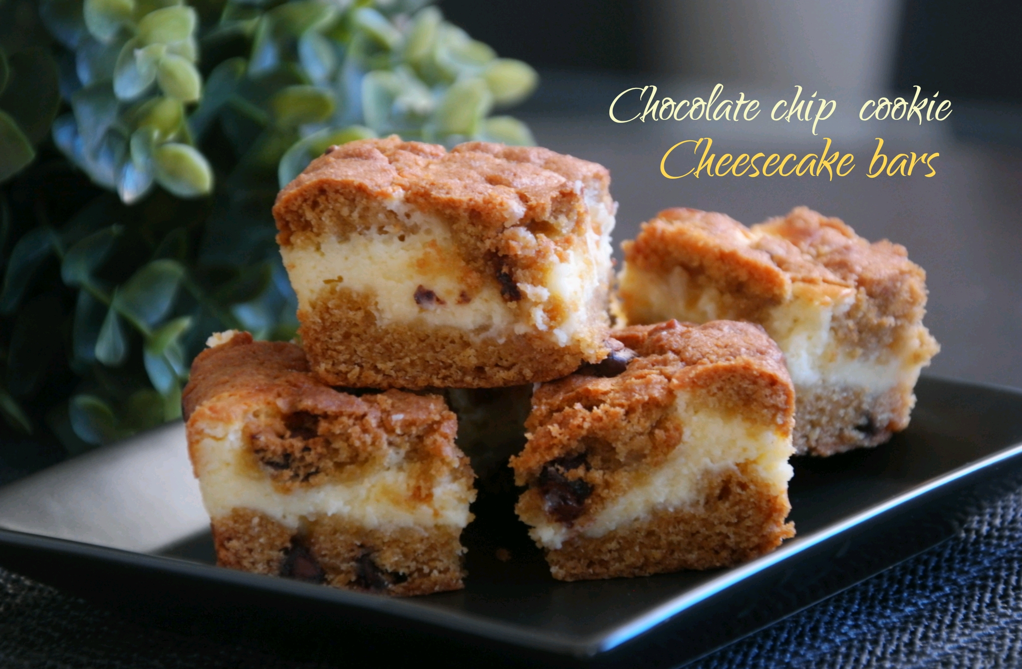 cookie cheesecake bars